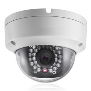 IP Night Vision Water Resistant Dome Camera