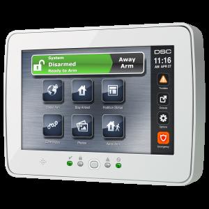 intrusion safety alarm user interface